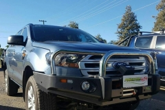 Ironman 4x4 Protector Bar and Kings Dominator Winch on Ford Everest