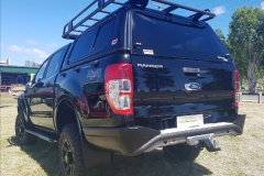 Ironman 4x4 Commercial Deluxe Bullbar, Side Steps & Rails, Snorkel & Ironman 4x4 Suspension Lift Kit