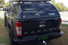 Ironman 4x4 Roof Rack, Canopy & Rear Protection Bar